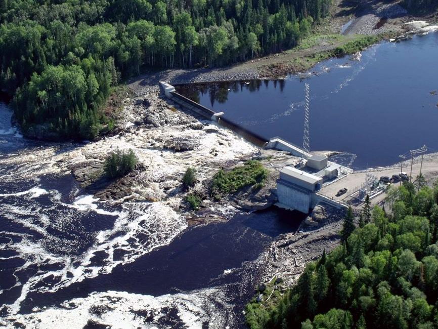 grande centre hydroélectrique